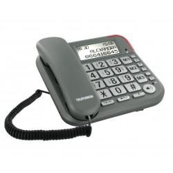 Téléphone filaire Telefunken TF 501 Cosi, Mains Libres, affichage numéro d'appel