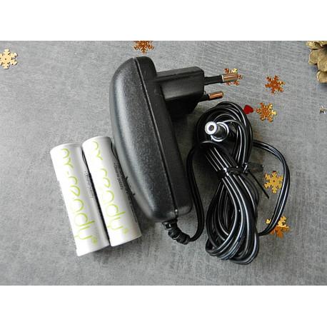 Accu pack et chargeur pour Envionic FA720, FA730 ou FA735