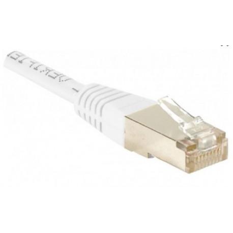 Câble ethernet blindé Cat5e pour réseaux informatiques filaires