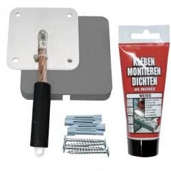Kit de mise à la terre ESA pour peintures de protection hautes fréquences YShield, pour extérieur