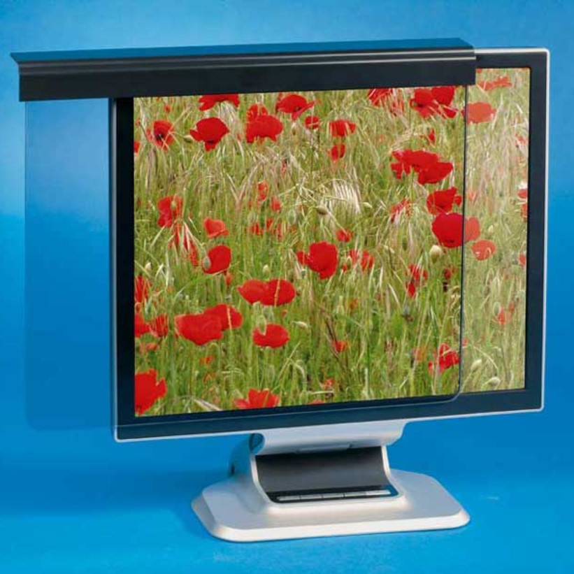 filtre écran anti reflet et de protection pour pc 19 pouces