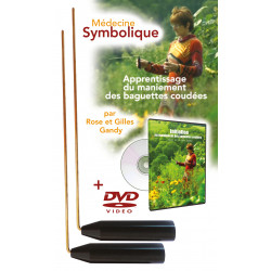 Coffret baguettes coudées + DVD d'apprentissage de Rose et Gilles Gandy