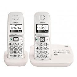 Téléphone sans fil Gigaset E310 Duo Comfort Eco-DECT+ Blanc