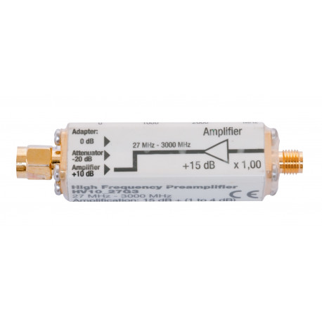 Amplificateur HV30_27G3 Gigahertz Solutions pour HF58B, HF58B-r et HF59B