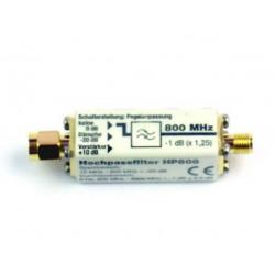 Filtre à bande passante élevée HP800_G3 Gigahertz Solutions