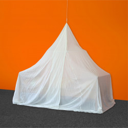 Baldaquin anti ondes pyramidal en tissu Swiss-Shield® NATURELL ULTRA™ BF/HF -40dB coton majoritaire