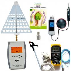 Pack professionnel complet de mesures HF et BF Evionic FA730 (BAT8) + perchette + Terre Catu DT300 + Tension Induite + valisette