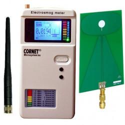 Pack détecteur d'ondes électromagnétiques Cornet ED85EXS + antenne BAT8