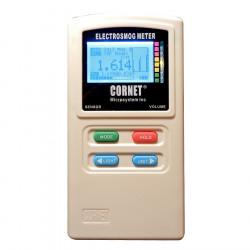 Détecteur d'ondes électromagnétiques hautes et basses fréquences Cornet ED88TPlus