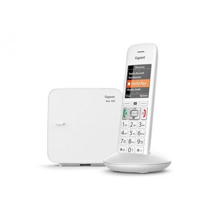 Téléphone sans fil Gigaset E370 Comfort Eco-DECT+ Blanc