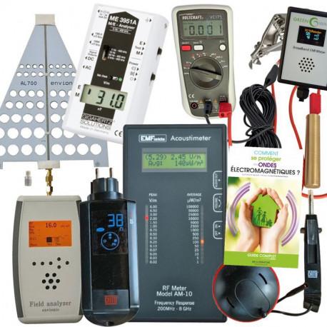 Pack pro v3 : MW-AM10 + FA725 + DG20 + ME3951A + PM5 + Catu DT300 + Tension Induite Pro + Broadband EMI Meter + Guide D BRUNO