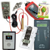Pack pro mesures Gigahertz Solutions ME3840B + EMFields AM10 + Tohm-e + Tension Induite + Elec Sale + Guide D. Bruno