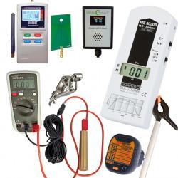 Kit mesures d'ondes semi-pro ME3030B + ED-85EXPlus Opt. + BAT8 + Tension Induite + Broadband EMI Meter + Testeur Terre