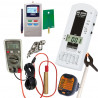 Kit mesures d'ondes semi-pro ME3030B + perchette + ED-85EXPlus Optimisé + BAT8 + Tension Induite + Testeur Terre