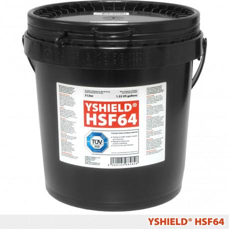 Peinture anti ondes hautes et basses fréquences Yshield HSF64 (pot 5l)