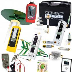 Pack pro v5 : Gigahertz Solutions MK70-3D+2.2 + Tension Induite Pro + GW Line EMI Meter + Tohm-e + Guide David BRUNO