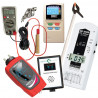 "Kit mesures d'ondes ""proV1+"" ME3840B + perchette + ED-88TPlus + Tension Induite + mesureur Terre Tohm-e + Greenwave BB EMI Meter"