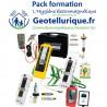 """Pack de mesures professionnel des ondes """"Pro v4"""" geotellurique.fr, formation diagnostic et hygiène électromagnétique offerte"""