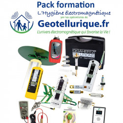 Formation + Pack pro v5 Ultime de mesures ondes : Gigahertz Solutions MK70-3D+2.2 + Tension Induite Pro + GW Line EMI Meter + To