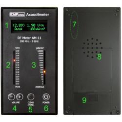 Acoustimeter AM-11 EMFields - Mesureur hautes fréquences large bande (200 Mhz à 8 GHz)