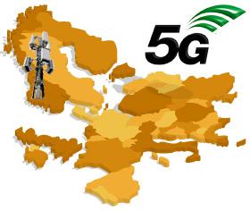 Antenne 5G, Europe