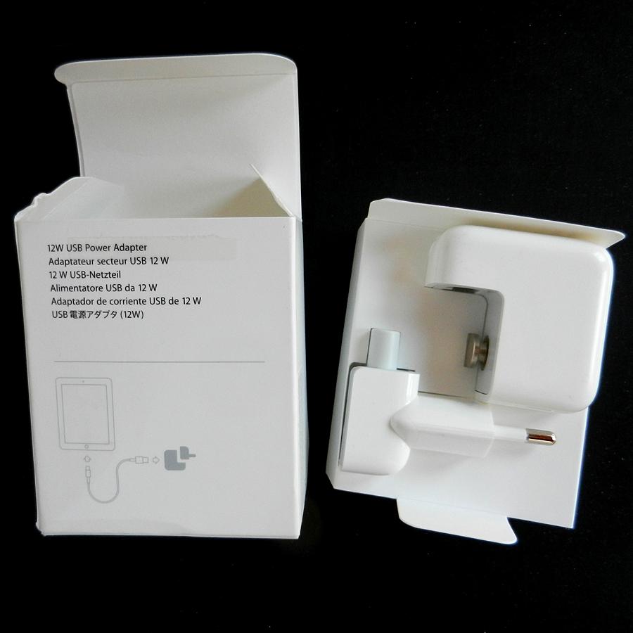 Adaptateur secteur Apple 12W pour iPad, iPod, iPhone