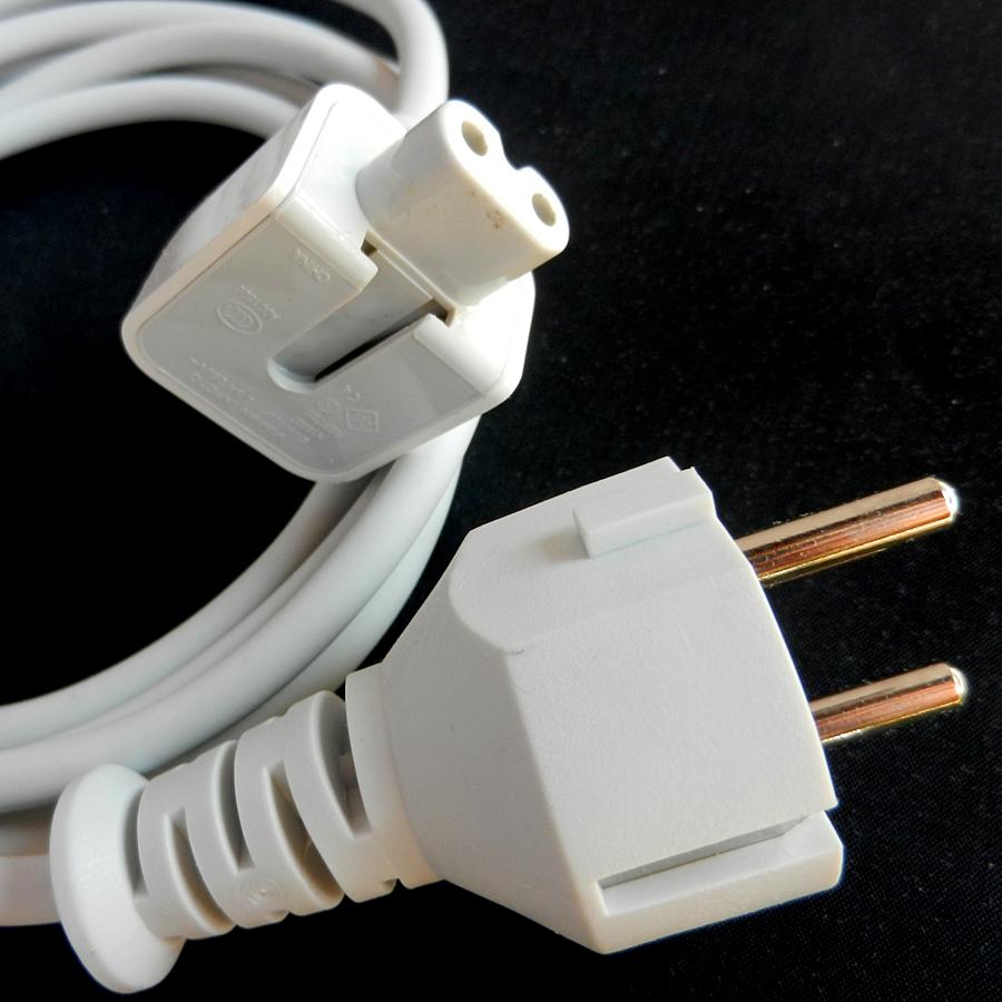 Fil avec terre pour adaptateur secteur Apple® 12W
