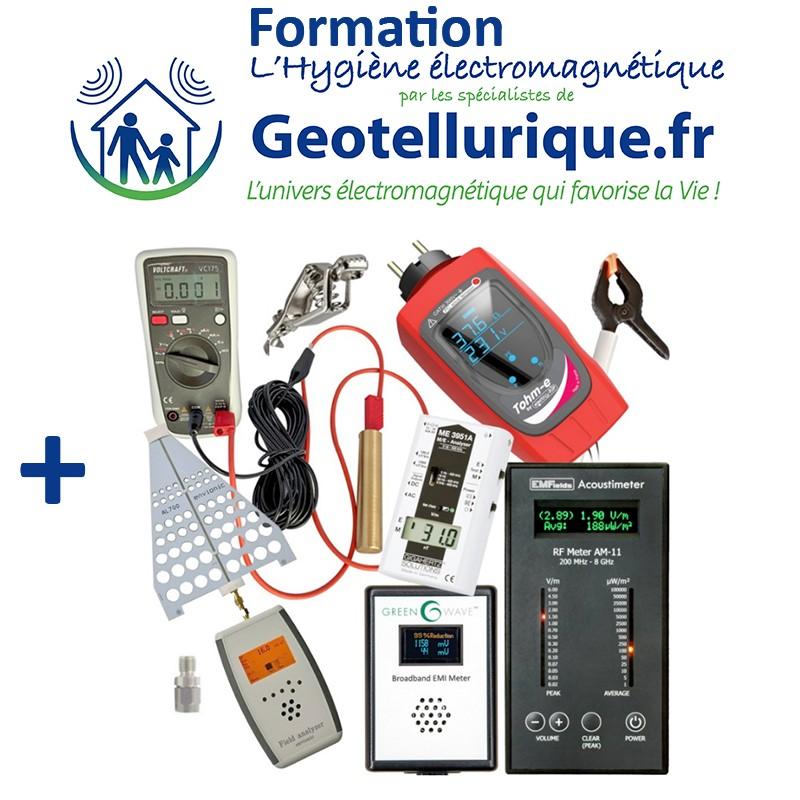 pack formation kit mesures d'ondes électromagnétiques