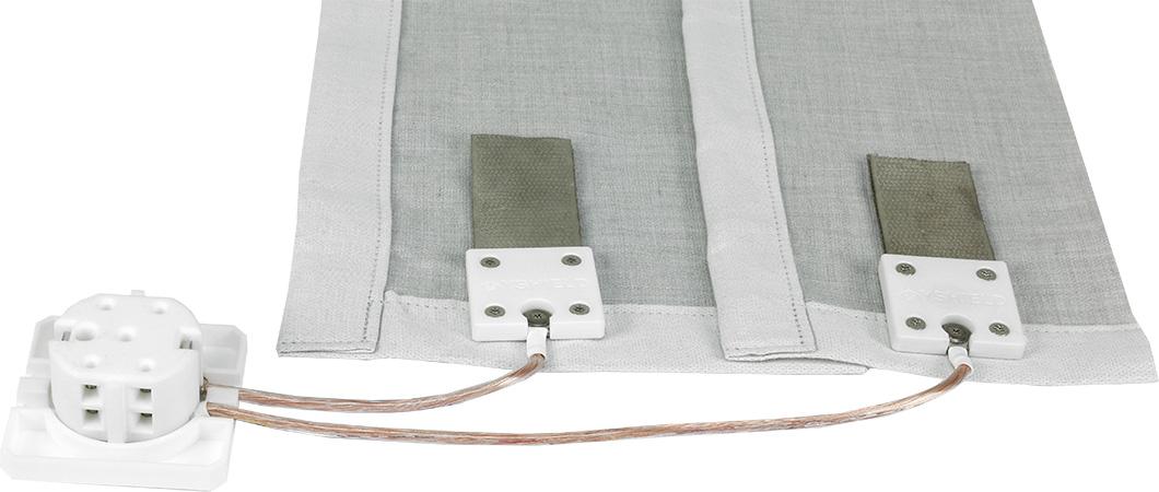 Tapis de sol anti-ondes pour baldaquin 1 ou 2 places en STEEL-TWIN - 41dB (HF + BF) - Yshield U1S / U2S
