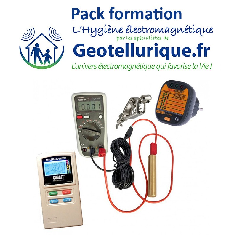 Pack mesures ondes électromagnétiques avec formation
